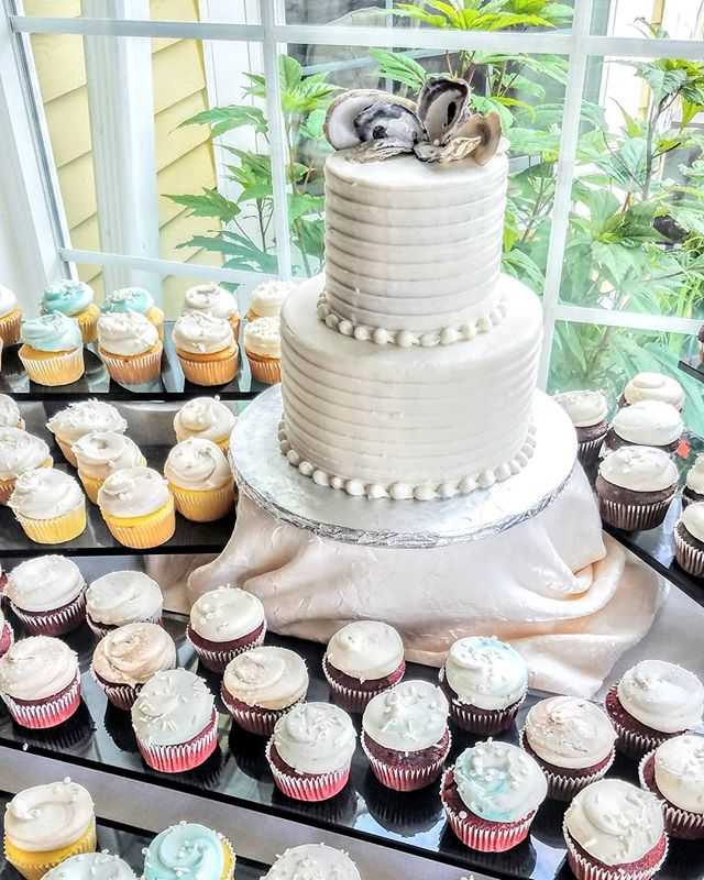 #weddingcupcakes for days!!